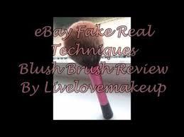 ebay fake real techniques blush brush