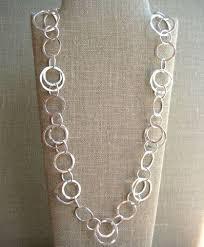 classic circle necklace wisteria