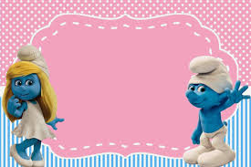 Free Smurfs Party Pitufos Fiesta Minnie Fiesta De Ninos
