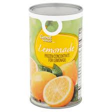 lemonade frozen concentrate 12 fl oz