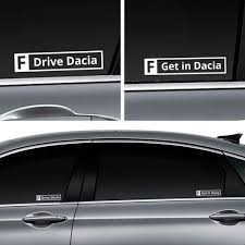Concept Decals That Say F Drive Car And F Get In Car On The Side Windows Also Have Dacia And Uaz Options Album On Imgur