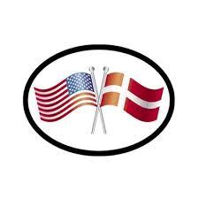 America Norway Flags Vinyl Car Decal Scandinavian North