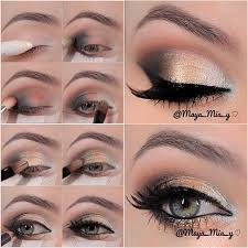 14 stylish shimmer eye makeup ideas for