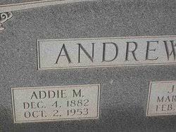 Addie Morris Andrews (1882-1953) - Find A Grave Memorial