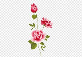 Pink Flower Rose Wall Decal Floral Design Sticker Flower Bouquet Mural Red Rose Flower Wall Decal Png Pngwing
