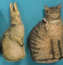 Arnold Print Works - Cloth animals OMGGG, the Jennie Doll!!! GAHHHHHH  @Madelyn Morris @addie morris | Cat furry, Primitive dolls, Sock dolls
