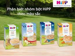 Bột ăn dặm Hipp loại nào ngon? Nên mua có sữa hay không có sữa vị mặn