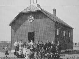 Historic Sites of Manitoba: Elk Park School / Firdale School No. 866  (Firdale, Municipality of North Cypress-Langford)