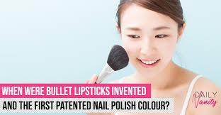 history of makeup daily vanity