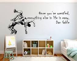 Wwe Wall Decals Etsy