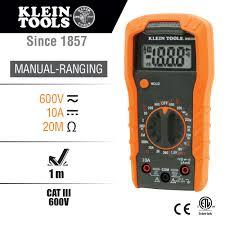 manual ranging digital multimeter mm300