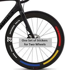 Carbon Road Bike Wheel Rim Stickers For 3 T Bicycle Race Cycle Stripes Decals Bicycle Wheel Aliexpress