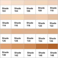 clinique even better makeup color chart