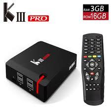 original mecool kiii pro android tv box dvb t dvb s dvb c g