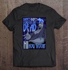 s hades lord of the dead hi how ya doin t shirts