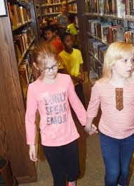 CES first-graders visit public library - Campbellsville Elementary School