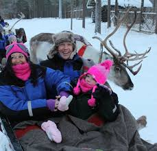 Lindsey, Martin and Abigail Cook in Lapland – Starlight Children's ...