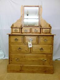stunning solid pine dressing table with
