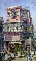Dr. Ajaz Anwar (Preservation of Old Lahore in Watercolours)