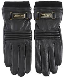 barbour stainforth leather gloves