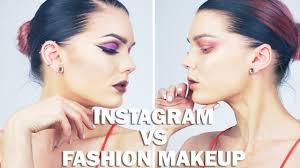 insram vs fashion makeup linda