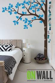 Large Tree Wall Decal Nursery Wall Decoration By Onwallstudio Simple Wall Decor Wall Painting Decor Wall Paint Designs