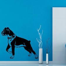 Shop Dog Vinyl Sticker Puppy Decal Pets Shop Decor Kids Wall Home Decor Art Nursery Room Sticker Decal Size 48x48 Color Black Overstock 14464174