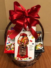 jelly belly basket gift basket in