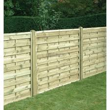 Square Horizontal Fence Panel 1800mm X 1500mm