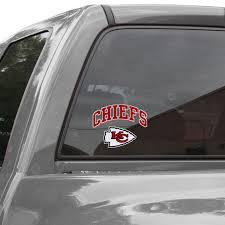 Kansas City Chiefs 8 X 8 Arched Logo Decal