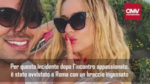 Valeria Marini, infortunio per il fidanzato dopo il momento hot ...