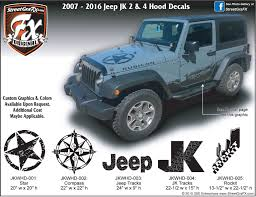 Jeep Wrangler Graphics Wrangler Stripes Jk Graphics Streetgrafx
