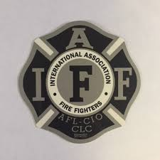 Black Silver Window Decals Oregon State Fire Fighters Council