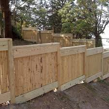 Cali Bamboo Actual 8 Ft X 3 5 Ft Bamboo Fencing Natural Bamboo Privacy Rolled Fencing In The Rolled Fencing Department At Lowes Com
