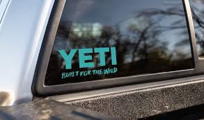 Yeti Window Decal Ricks Saddle Shop