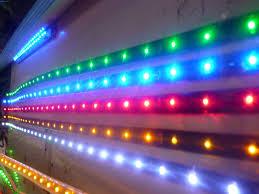 Đèn led dây 5050 12V nhiều màu hấp hẫn
