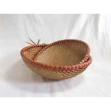 straw wicker baskets vintage raffia