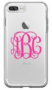 Custom Vine Monogram Initial Name Decal Phone Case For Iphone 7 8 99 Picclick