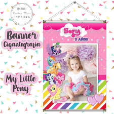 10 Invitaciones Tarjetas Cumpleanos My Little Pony Cumple 150