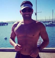 FP Santangelo (Born 1966) | Baseball players, Captain hat, Swimwear