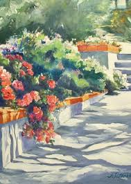 Rancho Santa Fe Art Guild - Work Zoom: The Garden Club by Adela Peterson