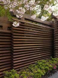 Pin By Kusno Utomo On Gate Modern Fence Design Modern Japanese Garden Privacy Fence Designs