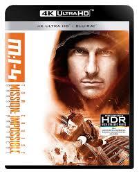 Mission: Impossible - Protocollo fantasma 4K Blu-Ray Region Free ...