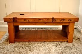 solid pine coffee tables handmade