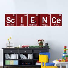 Genius Science Chemistry Teacher Vinyl Wall Art Decal Removable Sticker