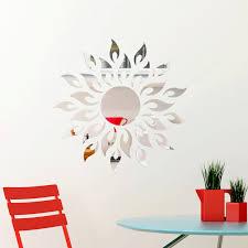 Winston Porter Goudy Sun Fire Mirror Wall Decal Reviews Wayfair