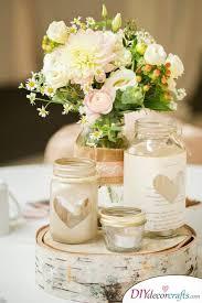 diy wedding centerpieces diy table