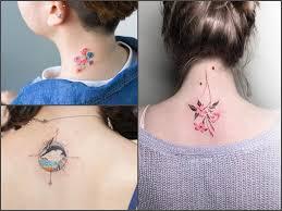 Tatuaz Na Karku 29 Pomyslow Na Atrakcyjny Wzor Etatuator Pl