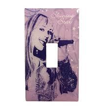 Disney Lightswitch Plate Sticker Decal Hannah Montana Target