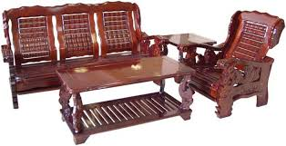 wood furniture designs sala set